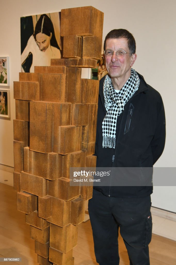Antony Gormley attends a private view of new exhibition 'From Life' at The Royal Academy of Arts on December 7, 2017 in London, England.