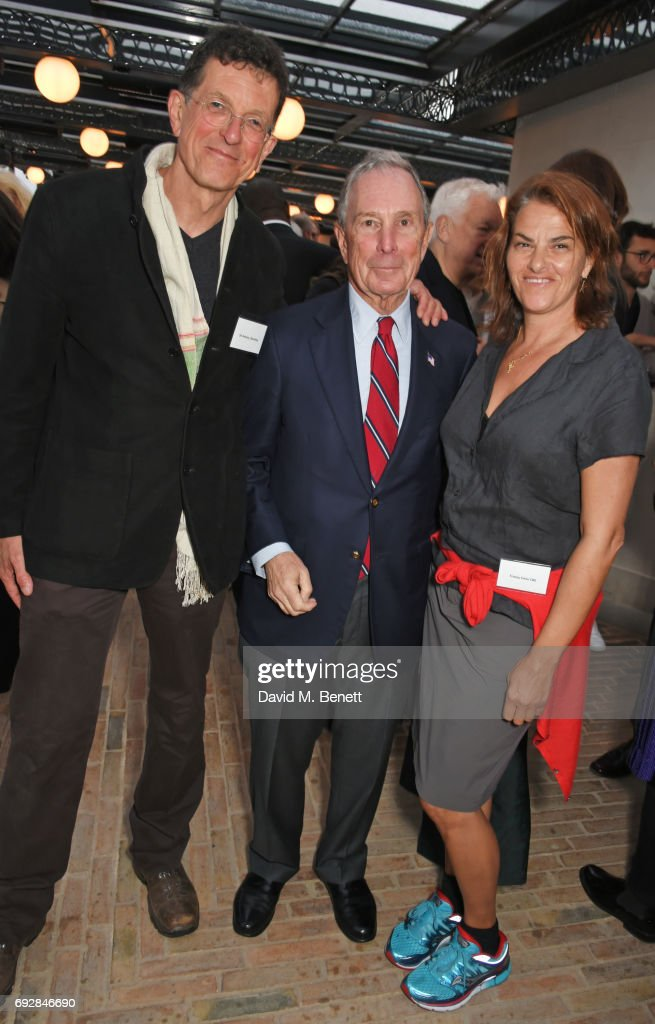 """Climate Of Hope"" By Michael Bloomberg & Carl Pope - Book Launch Party At The Ned"
