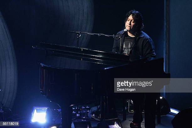 Antony Hegarty of Antony and The Johnsons performs at the annual Nationwide Mercury Prize music awards ceremony at Grosvenor House on September 6...
