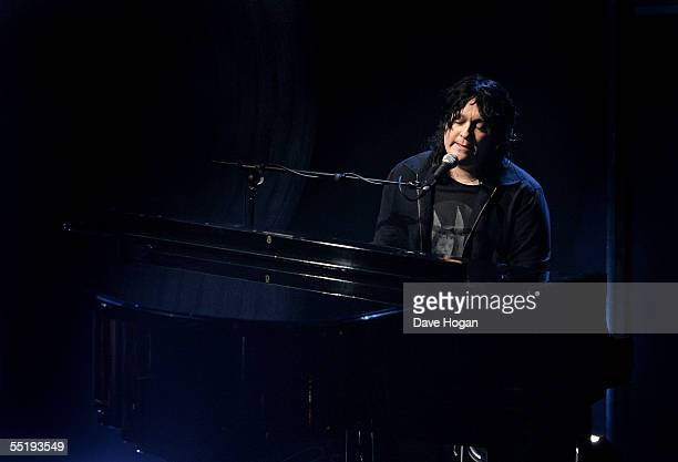Antony Hegarty of Antony and The Johnsons performs during the annual Nationwide Mercury Prize music awards ceremony at Grosvenor House on September 6...