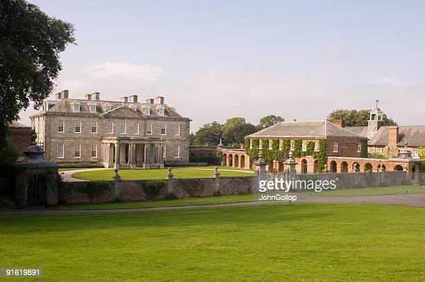 antony house, cornwall - english culture stock pictures, royalty-free photos & images
