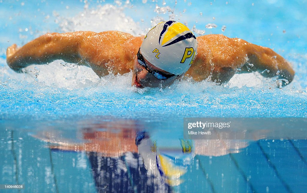British Gas Swimming Championships - LOCOG Test Event for London 2012: Day Six : News Photo