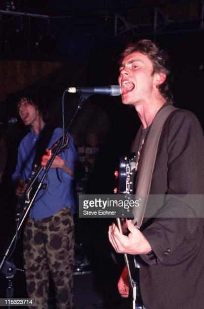 Antony Langdon and Royston Langdon of Spacehog during Spacehog in Concert at Wetlands, NYC - 1995 at Wetlands in New York City, New York, United...
