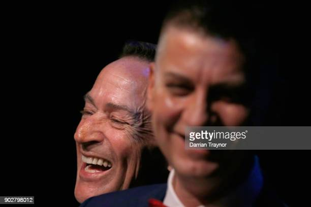 Antony McManus and Ron Van Houwelingen get married on January 9 2018 in the theatre where they met 30 years ago in Melbourne Australia Couples across...