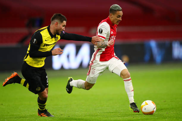 NLD: Ajax v BSC Young Boys - UEFA Europa League Round Of 16 Leg One