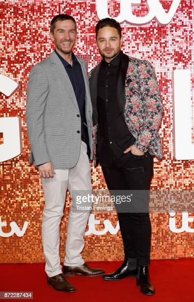 Antony Quinlan and Adam Thomas arriving at the ITV Gala held at the London Palladium on November 9 2017 in London England