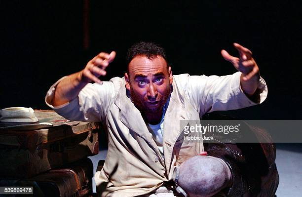 """Antony Sher and Alex Ferns in the production """"I.D"""" at the Almeida Theatre."""