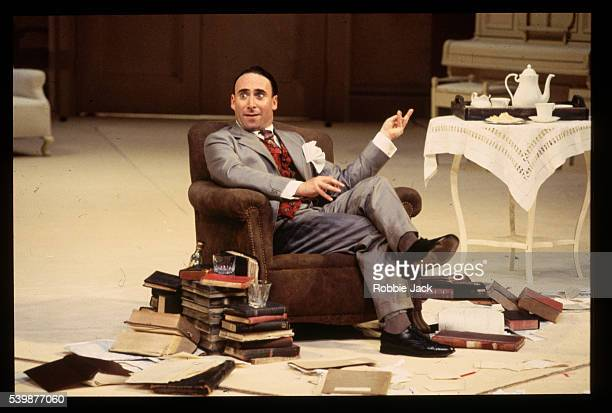 """Antony Sher appears in a Royal Shakespeare Company production of """"Travesties""""."""