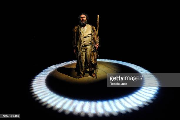 Antony Sher as Prospero in the joint Baxter Theatre/Royal Shakespeare Company production of William Shakespeare's play The Tempest, directed by...