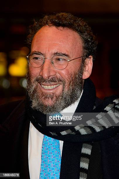 Antony Sher attends as The national Theatre celebrate 50 years on stage at The National Theatre on November 2, 2013 in London, England.
