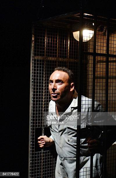 """Antony Sher in the production """"I.D"""" at the Almeida Theatre."""