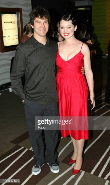 Antony Starr and Antonia Prebble during 2006 Air New Zealand Screen Awards at Skycity Theatre in Auckland New Zealand