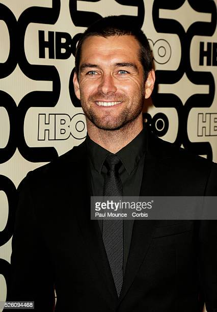 Antony Starr arrives at the HBO AfterParty celebrating the 70th Golden Globes