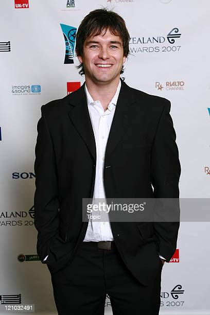 Antony Starr attends the Air New Zealand Screen Awards 2007 on August 1 2007 in Auckland New Zealand