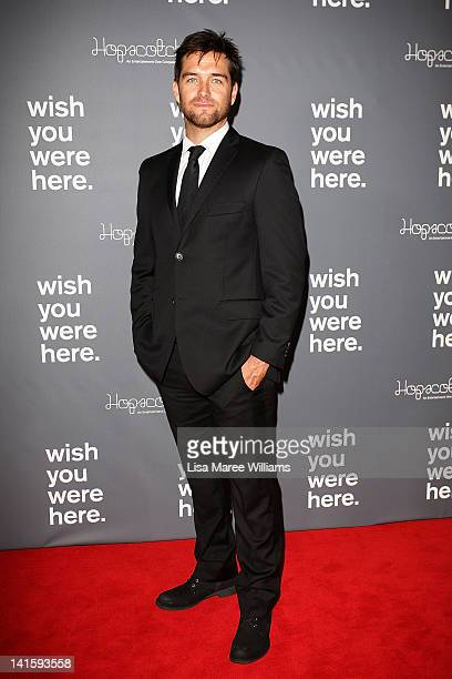 Antony Starr attends the 'Wish You Were Here' Australian Premiere at Hoyts Entertainment Quarter on March 19 2012 in Sydney Australia