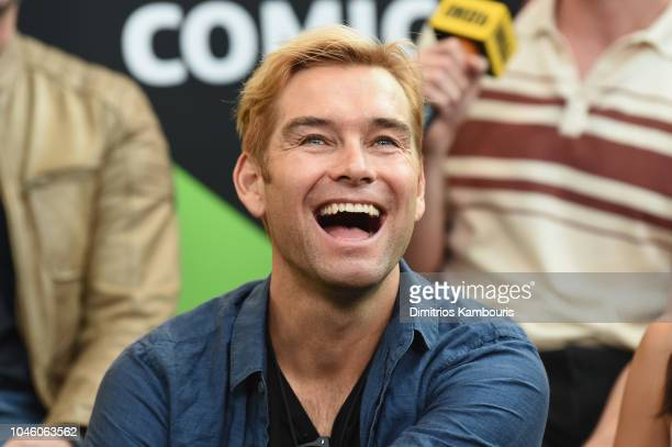 Antony Starr of 'The Boys' attends IMDb at New York Comic Con Day 1 at Javits Center on October 5 2018 in New York City