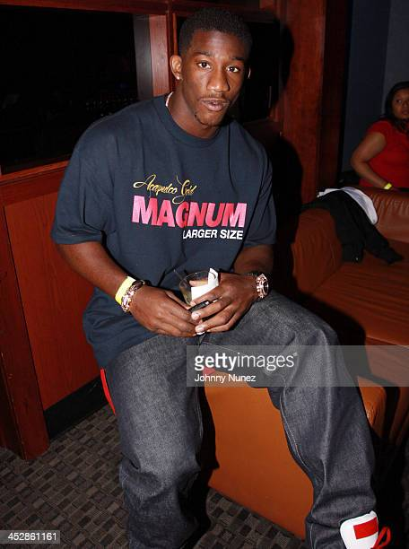 Antrel Rolle attends Bottles & Strikes Tuesday at Chelsea Piers on June 8, 2010 in New York City.