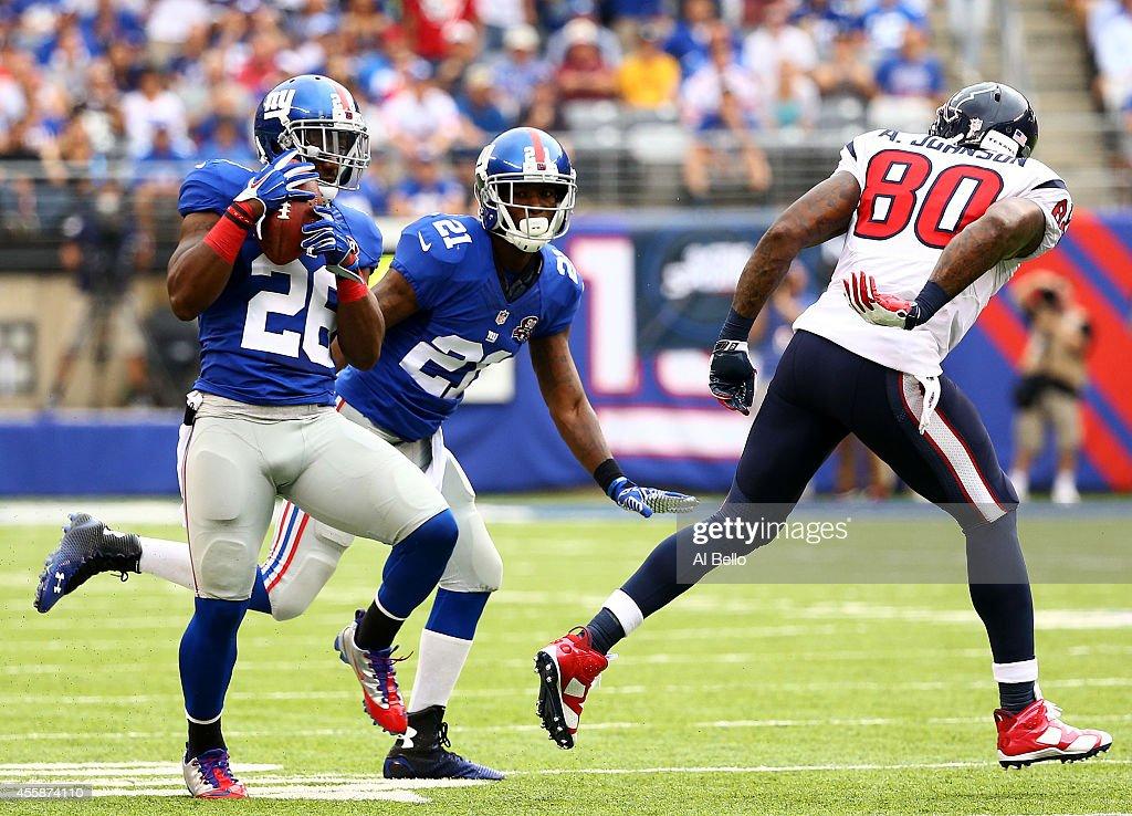Houston Texans v New York Giants : News Photo
