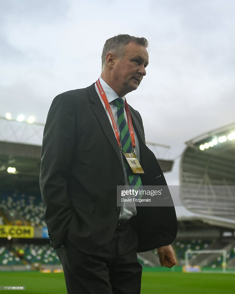 GBR: Northern Ireland v Estonia - UEFA EURO 2020 Qualifier