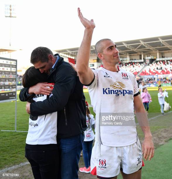 Antrim Ireland 6 May 2017 Ulster's Ruan Pienaar following the Guinness PRO12 Round 22 match between Ulster and Leinster at Kingspan Stadium in Belfast
