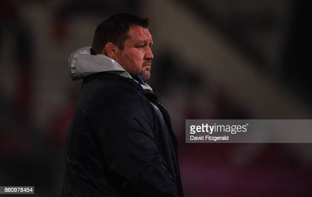 Antrim United Kingdom 13 October 2017 Wasps Director of Rugby Dai Young prior to the European Rugby Champions Cup Pool 1 Round 1 match between Ulster...