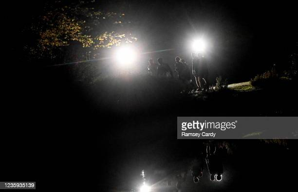 Antrim , United Kingdom - 17 October 2021; A general view during the Belfast International 24 Hour Road Race at Victoria Park in Belfast. The event...