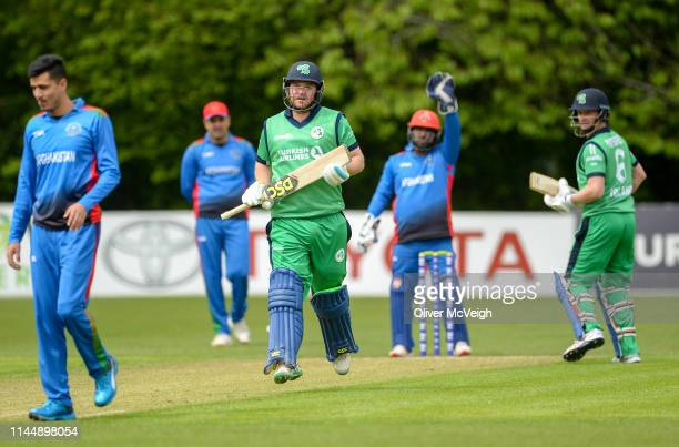 Antrim United Kingdom 19 May 2019 Paul Stirling of Ireland running between the wickets during the OneDay International between Ireland and...