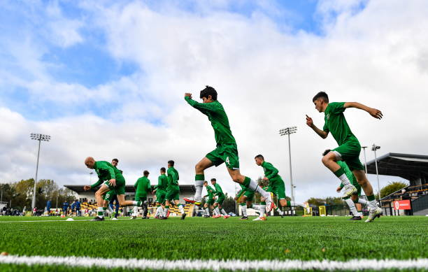 GBR: Republic of Ireland v Northern Ireland - Victory Shield