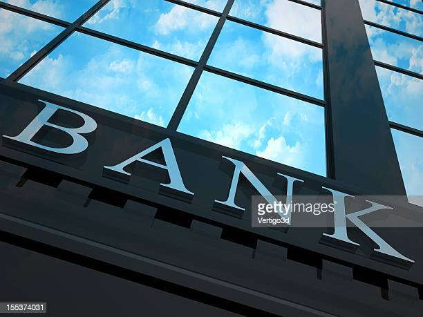 Ant's eye view looking up at a bank