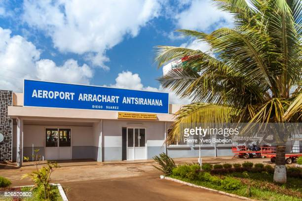 antsiranana airport - pierre yves babelon stock pictures, royalty-free photos & images