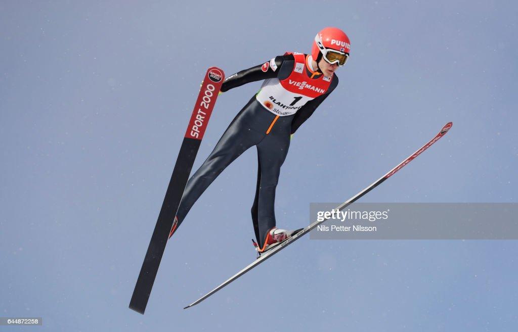 FIS Nordic World Ski Championships - Men's Ski Jumping HS100 Training : News Photo