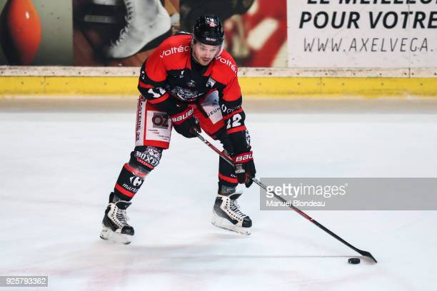 Antti Jaatinen of Bordeaux during the Magnus League Playoff match between Bordeaux and Gap on February 28 2018 in Bordeaux France