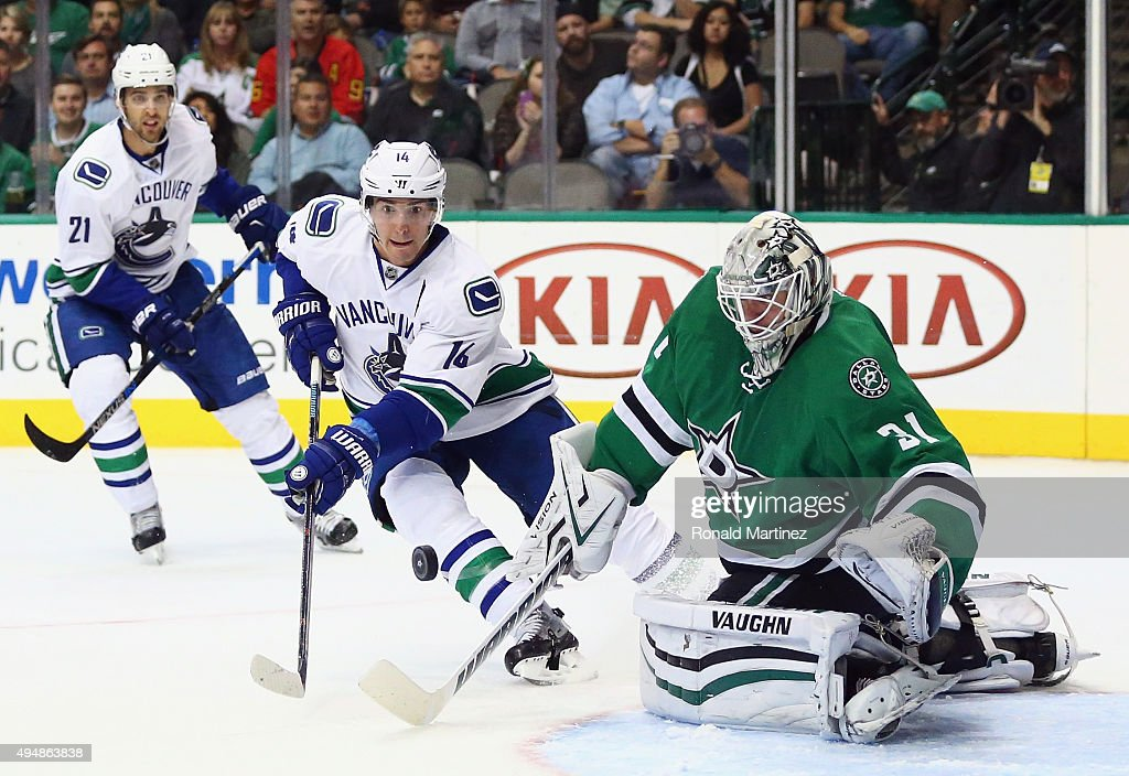 Vancouver Canucks v Dallas Stars : News Photo