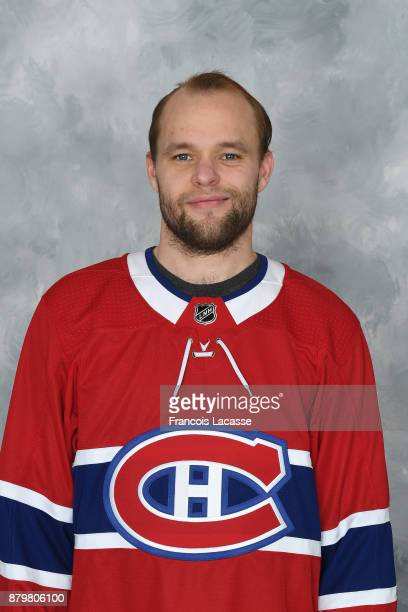 Antti Niemi of the Montreal Canadiens poses for his official headshot for the 201718 season on November 16 2017 in Montreal Quebec Canada