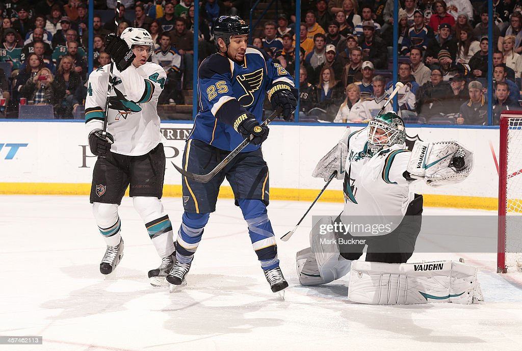 San Jose Sharks v St. Louis Blues : News Photo