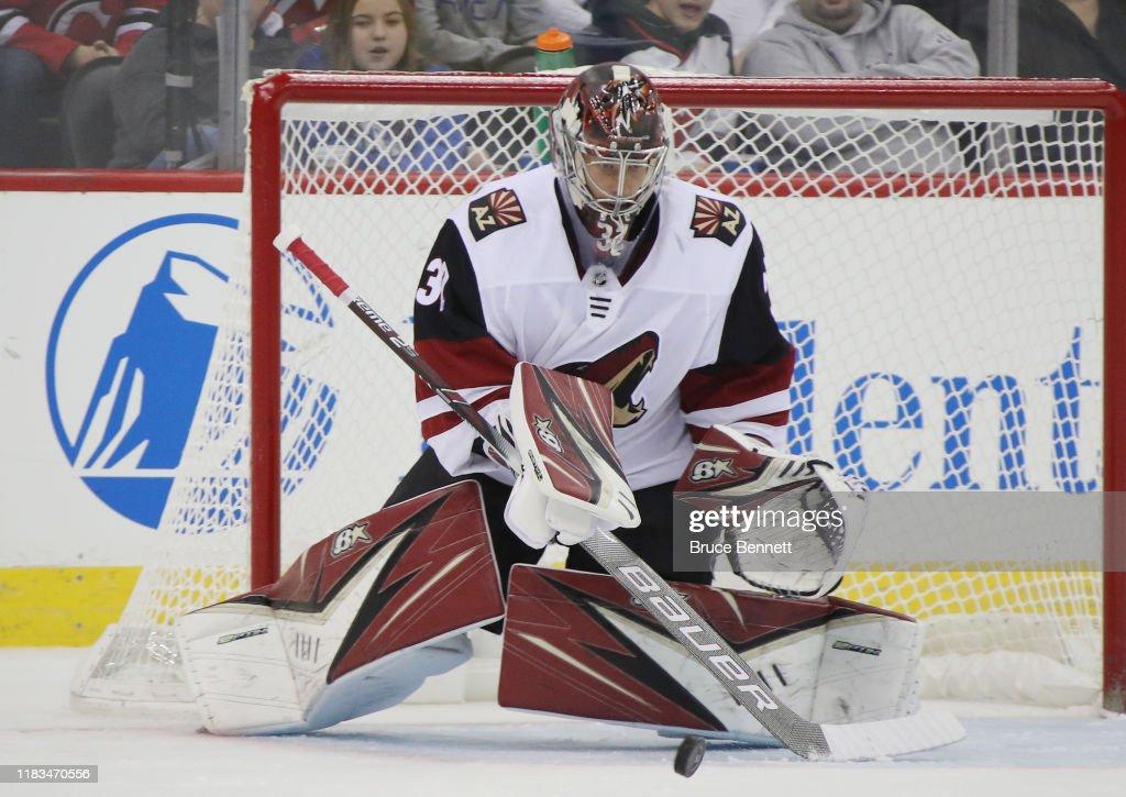 Arizona Coyotes v New Jersey Devils : Nieuwsfoto's