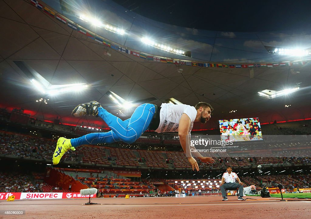 Antti Ruuskanen of Finland competes in the Men's Javelin final during day five of the 15th IAAF World Athletics Championships Beijing 2015 at Beijing National Stadium on August 26, 2015 in Beijing, China.