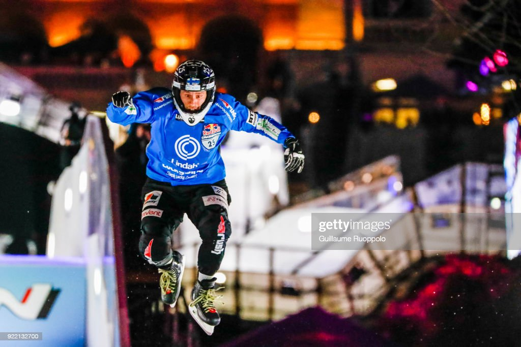 Red Bull Crashed Ice Marseille 2018 : News Photo