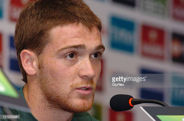 Antunes during the Portugal Under 21 Training and Press Conference at Estadio Nacional Lisbon Portugal on May 29 2007