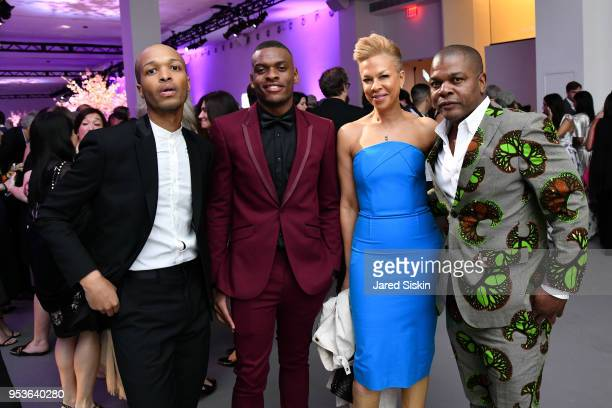 Antwaun Sargent PrinceAnthony Hall Tonya Lewis Lee and Kehinde Wiley attend Planned Parenthood Of New York City Spring Gala Honoring Cecile Richards...