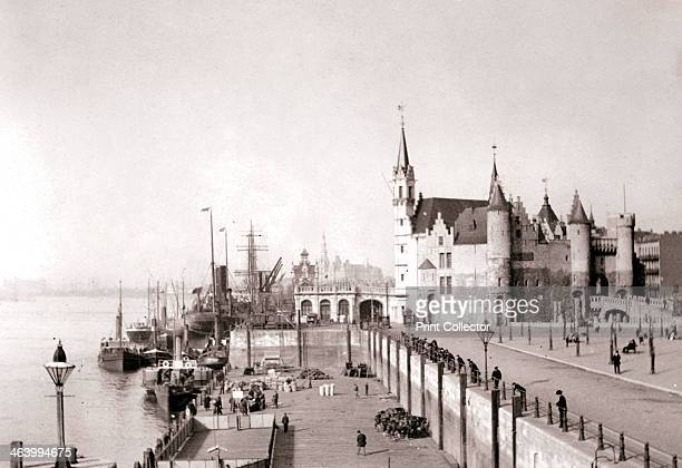 Antwerp, 1898. Illustration from a book of photographs taken in Holland and Belgium by James Batkin, .