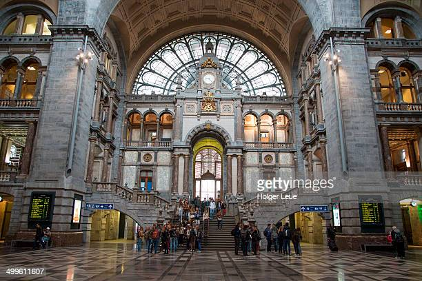 Antwerp Centraal main railway station