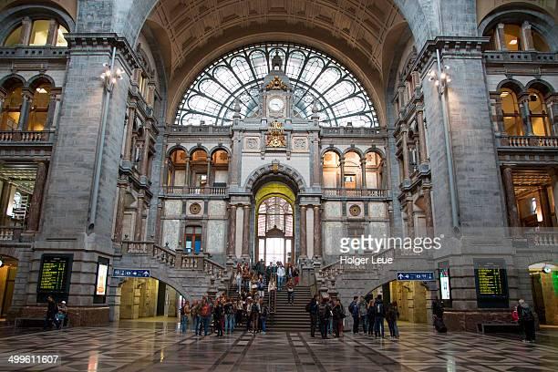 Antwerp Centraal main railway station