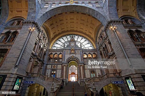 Antwerp Central station, Antwerp, Belgium