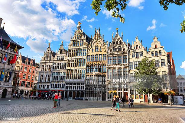 Antwerp official building in towncity hall of located in squareBelgium