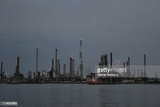 Antwerp oil refinery