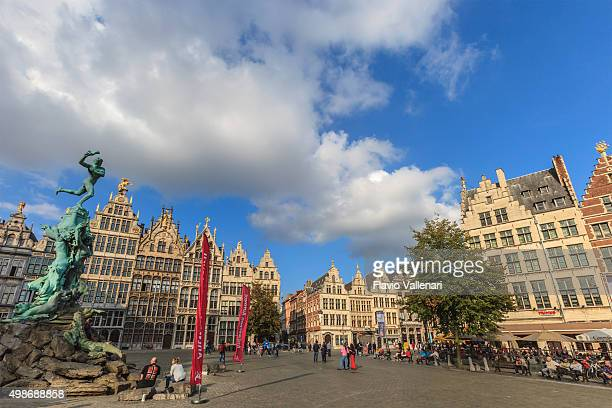 Antwerp, the Grote Markt - Belgium