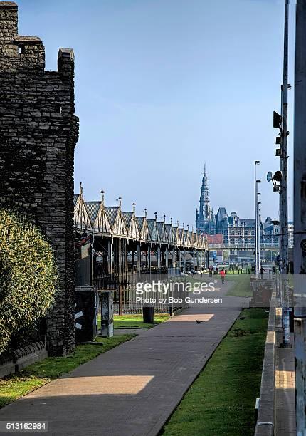 antwerp walkway - antwerp city belgium stock pictures, royalty-free photos & images