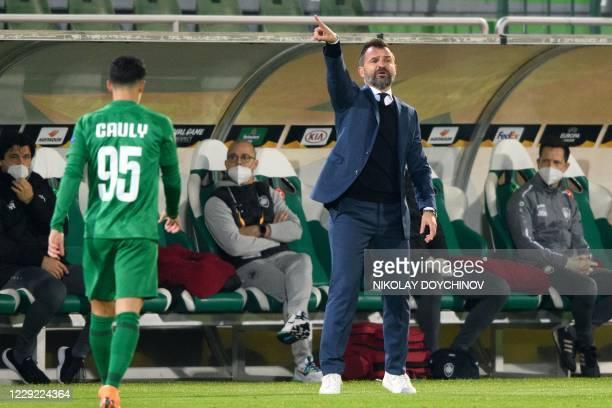 BGR: PFC Ludogorets Razgrad v Royal Antwerp: Group J - UEFA Europa League