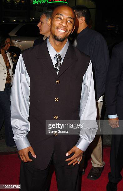 Antwon Tanner during Coach Carter Los Angeles Premiere Arrivals at Grauman's Chinese Theatre in Hollywood California United States